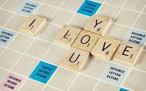 Picture Love, Mood, Puzzle, Inscription, Crossword