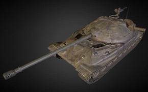 Picture Russia, Experienced tank, Object 705