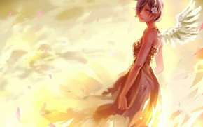 Picture girl, rose, Tokyo Ghoul, Tokyo ghoul