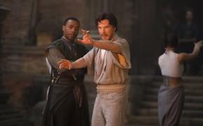 Picture training, Benedict Cumberbatch, English, Actor, Doctor Strange, Doctor Strange