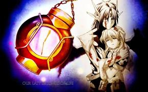 Picture romance, anime, pair, Chrno Crusade