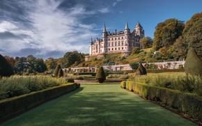 Picture Park, castle, lawn, dunrobin castle