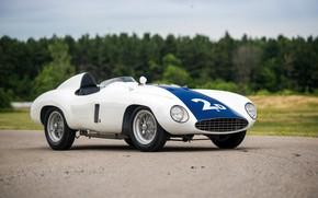 Picture Ferrari, Classic, Classic car, 1955, Sports car, Ferrari 750 Monza Spyder