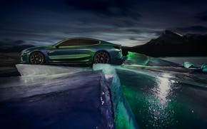 Picture cold, coupe, ice, BMW, North, 2018, M8 Gran Coupe Concept