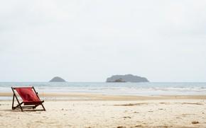 Picture sand, sea, wave, beach, summer, shore, chaise, summer, beach, sea, blue, seascape, sand, wave