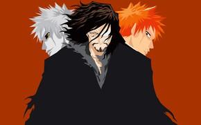 Picture background, guys, Bleach, Bleach, Ichigo Kurosaki, empty, Zanpakutō