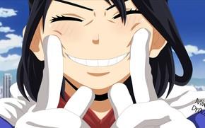 Picture girl, smile, My hero Academy, Boku No Hero Academy