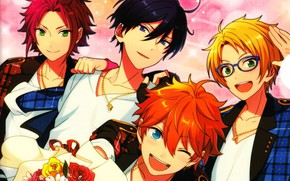 Picture the game, anime, guys, Ensemble Stars!