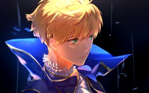 Picture guy, blonde, the saber, Fate / Grand Order, The destiny of a great campaign