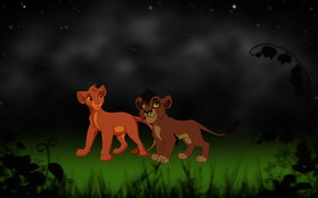 Picture background, art, the cubs