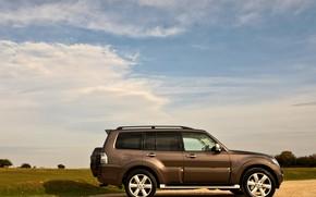 Picture profile, Mitsubishi, 2012, Pajero, SUV, Shogun, the five-door, Montero