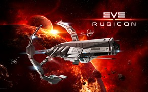 Picture nebula, planet, asteroids, Space, space, spaceship, eve online, rubicon, space ship, coooper