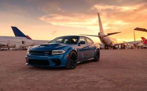 Picture machine, aircraft, optics, Dodge, Charger, Hellcat, SRT