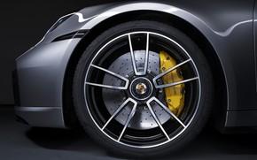 Picture wheel, 911, Porsche, Turbo S, 2020, 992