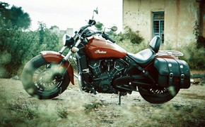 Picture Indian, Scout, Motorcycle