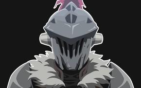 Picture helmet, knight, Goblin Slayer