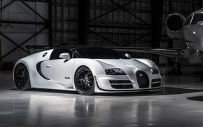 Picture Roadster, Bugatti, Veyron, supercar, business jet, hypercar, Grand Sport, Vitesse, 2019, business jet