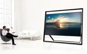 Picture interior, samsung, television