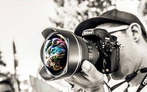 Picture The camera, Lens, Shutter, Photographer, Viewfinder