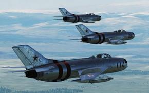 Picture OKB MiG, Fighter-interceptor, MiG-19P