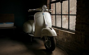 Picture background, a scooter, Vespa GS