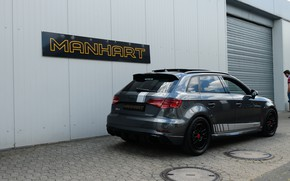Picture Audi, rear view, 500, RS3, Manhart, RS 3, 2019, Manhart 500