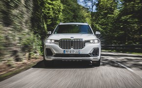 Picture speed, BMW, 2019, XDrive30d, BMW X7, Design Pure Excellence