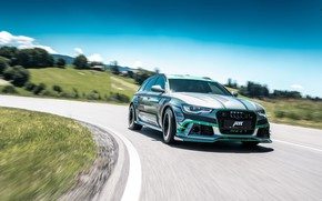 Picture Audi, 2018, ABBOT, Before, RS6, RS6-E, E-1000, Hybrid Concept