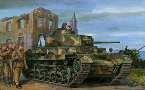 Picture Tank, Hungary, Tanker, Soldiers, Turan I, 40М Turan