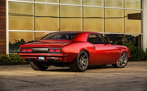 Picture Chevrolet, Muscle, Camaro, Red