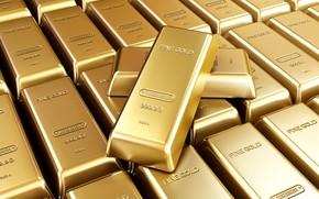 Picture gold, treasure, bars