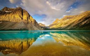 Wallpaper Banff National Park, Alberta, Canada, Bow Lake
