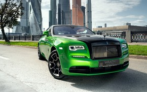 Picture green, Moscow, rolls royce, Russia, Russia, Moscow, wraith, 2019, rolls royce wraith