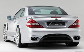 Picture Gran Turismo, sports Roadster, lorinser, facelift, Mercedes-Benz R230, the fifth generation SL-class
