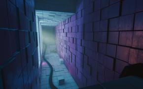 Picture The game, Wallpaper, Interior, Q.U.B.E. 2