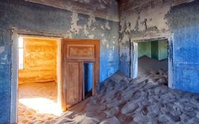 Picture sand, room, door