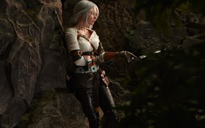 Picture cosplay, cosplay, Character, The Witcher 3: Wild Hunt, The Witcher 3: Wild Hunt, CRIS, Cirilla, …