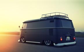 Picture Volkswagen, Car, Tuning, Bus, Van Truck