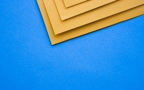 Picture background, texture, geometry, blue, papers
