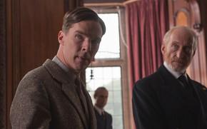 Picture men, Benedict Cumberbatch, Benedict Cumberbatch, still from the film, 2014, The Imitation Game, The imitation …