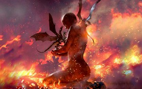 Picture Skull, Fire, Dragons, Game Of Thrones, A song of Ice and Fire, Daenerys Targaryen, Game …