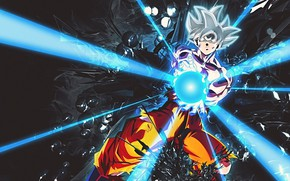 Picture rays, power, guy, Dragon Ball, Dragonball