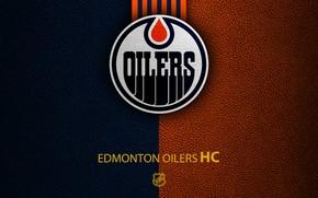 Picture wallpaper, sport, logo, NHL, hockey, Edmonton Oilers
