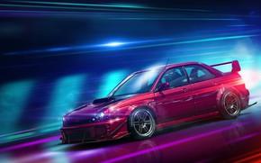 Picture Auto, Subaru, Impreza, Machine, Car, NFS, Need for Speed, Subaru Impreza, Transport & Vehicles, by …