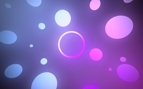 Picture white, purple, abstraction, blue, round, gradient, ring