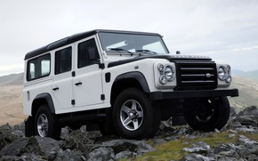 Picture SUV, Land Rover, 2009, Defender, Limited Edition