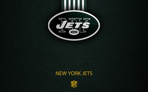 Picture wallpaper, sport, logo, NFL, New York Jets