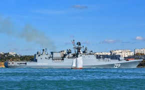 Picture frigate, Sevastopol, the project 11356, Admiral Makarov