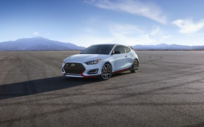 Wallpaper 2018, Hyundai, Veloster N, hatchback