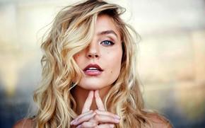 Picture blond, beautiful girl, blonde, beautiful eye, blond girls, blondie, Rachel Hilbert